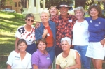 Class of 1960 attendees at the Sequoia Foothills Reunion in 2001