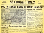 Sekwoia Times Comedy Edition March 20, 1959 (not April Fools Day 1987)