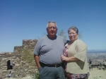 Jose and Isabel Herrera at South Mountain Park, Phoenix AZ.
