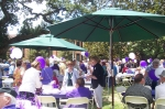 At the Alumni Assn Picnic on campus - Class of 1960 were honored guests