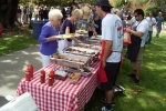 Folks from every class from 1938 to current students attended the alumni picnic on campus - with good food